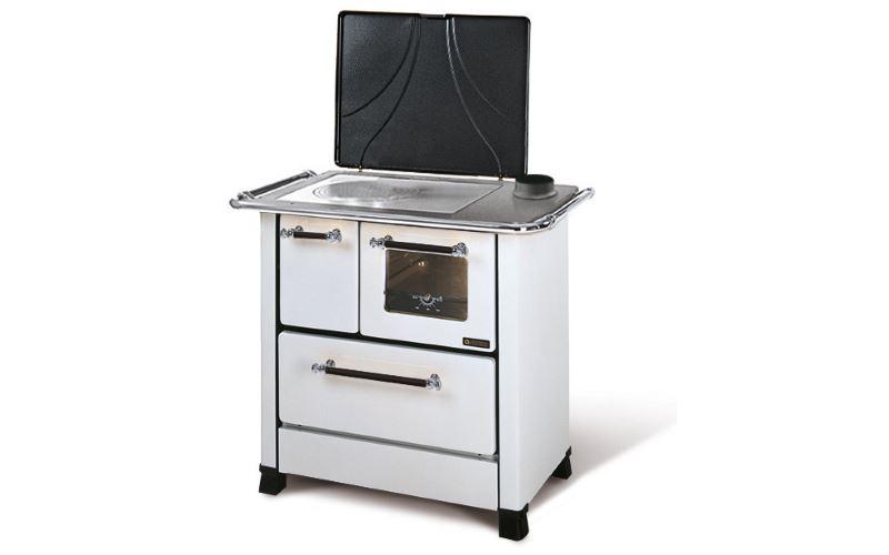Cucina a legna nordica romantica 4 5 bianca dx prezzi e offerte - Cucina a legna nordica prezzi ...