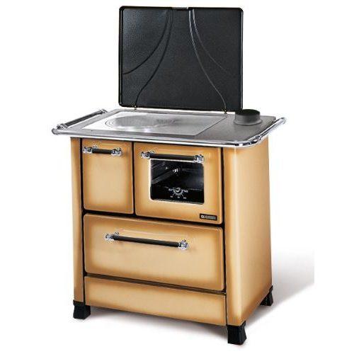 Cucina a Legna NORDICA ROMANTICA 4,5kW cappuccino : Prezzi e Offerte