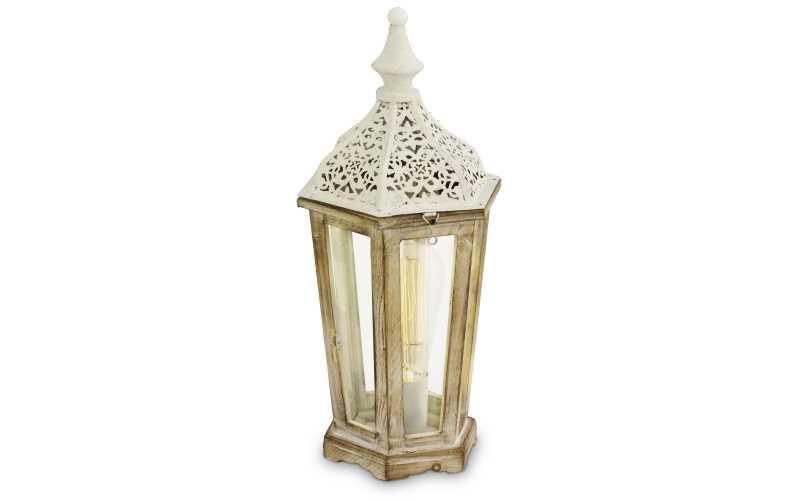Lampada da tavolo vintage eglo patina white prezzi e offerte - Lampada da tavolo vintage ...