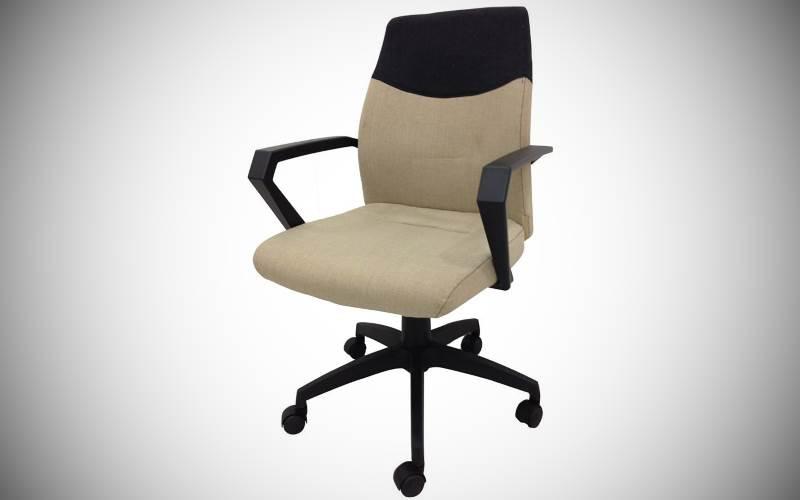 Sedia da ufficio sara beige in plastica e tessuto : prezzi e offerte