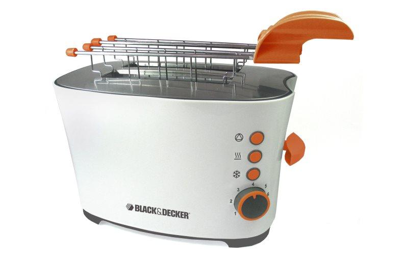 Black decker tostapane con pinze prezzi e offerte for Prezzi tostapane