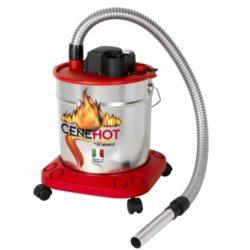 Aspiracenere Ribimex Cenehot 950 watt grigio e rosso