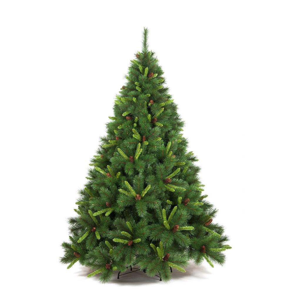 albero di natale amazzonia 210 cm con pigne prezzi e offerte