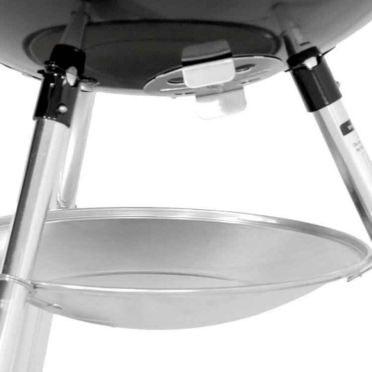 Barbecue Weber GBS Charcoal Grill 57 Cm- Nero dettaglio raccolta cenere