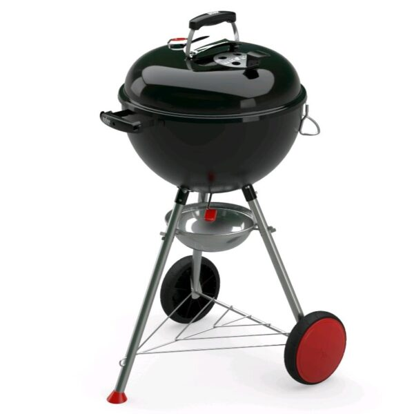 Barbecue Weber Nero e Rosso Kettle Plus Charcoal Grill 47 cm