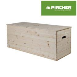 Baule pircher in legno di pino grezzo laminato