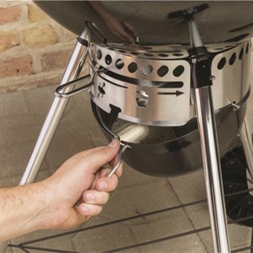 Contenitore di raccolta grassi e cenere del Barbecue Weber Master-Touch GBS Charcoal Grill 57 Cm- Verde