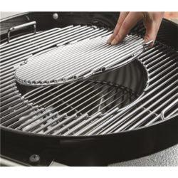 Griglia in acciaio smaltato Barbecue Weber Master-Touch GBS Charcoal Grill 57 Cm - Verde
