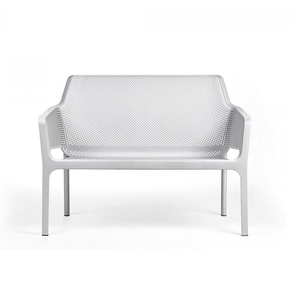 Vista frontale divano net bench nardi