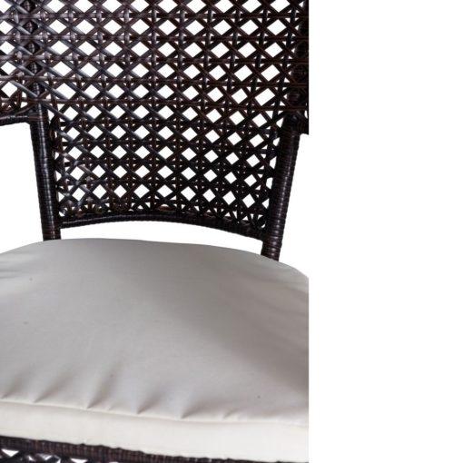 salotto da esterno Bristro Chenge dettaglio della seduta