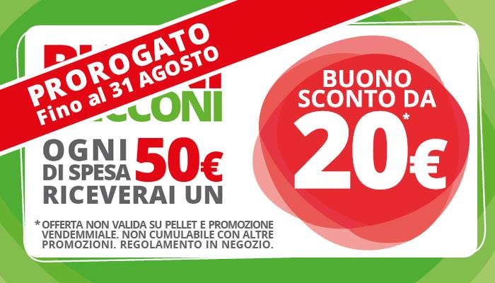 Proroga Buoni Bricconi agosto 2018