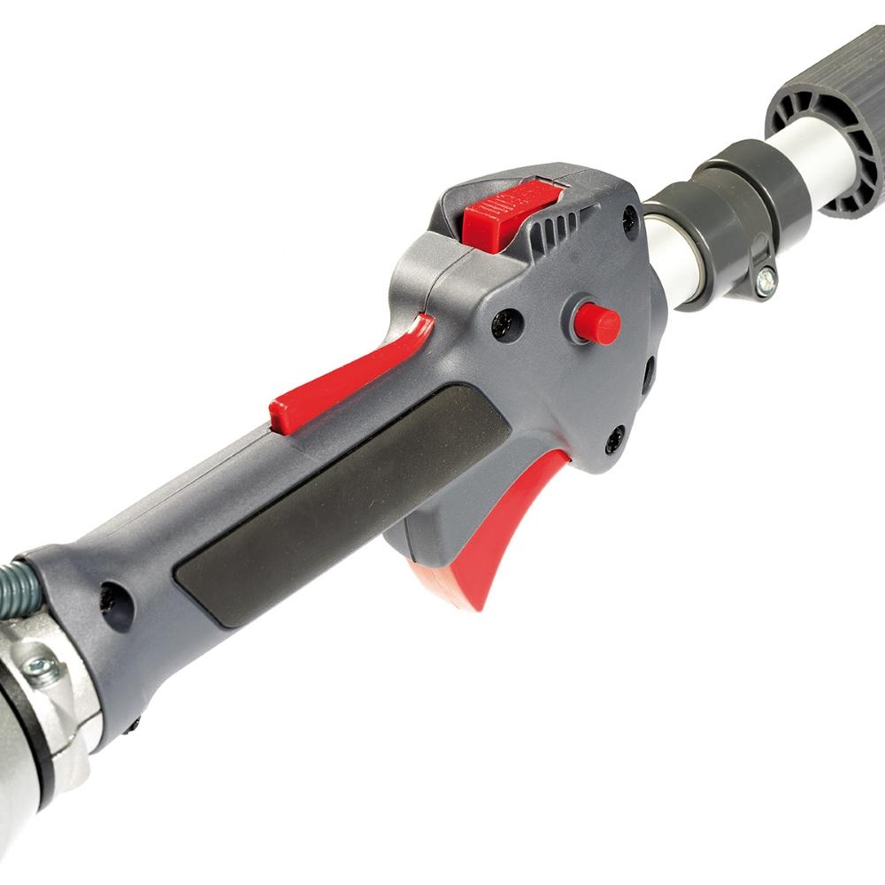 Decespugliatore a scoppio Oleo-Mac Sparta 441 S dettaglio acceleratore