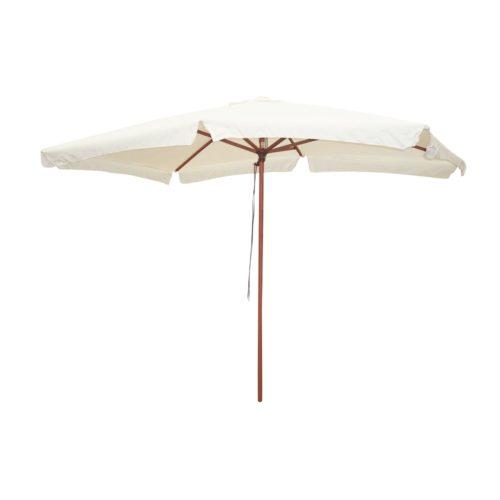 Ombrellone in legno deluxe 2x3