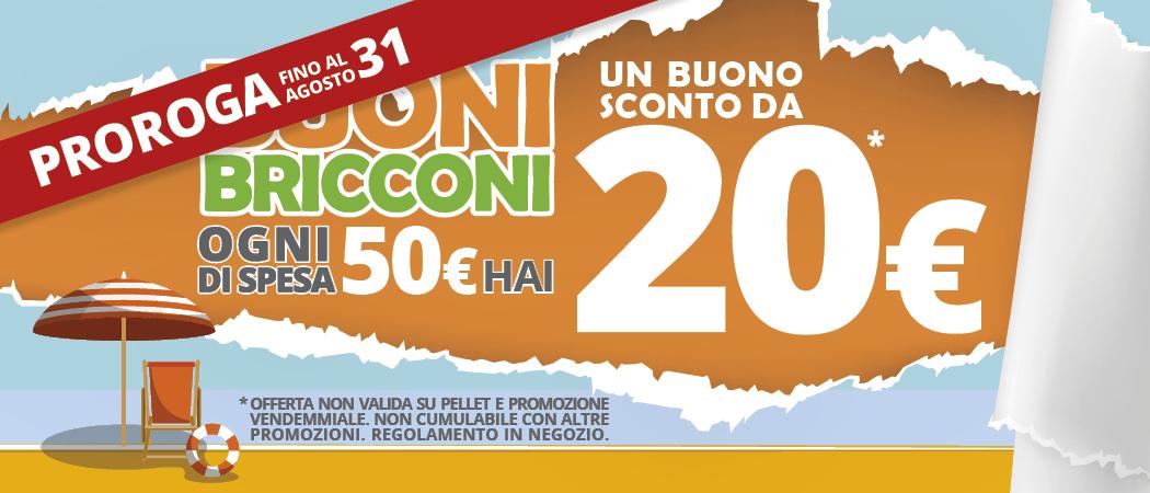 Proroga promozione di Brichome Buoni Bricconi