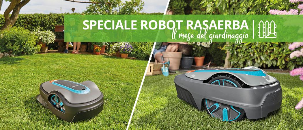 Robot Rasaerba: Mese del Giardinaggio