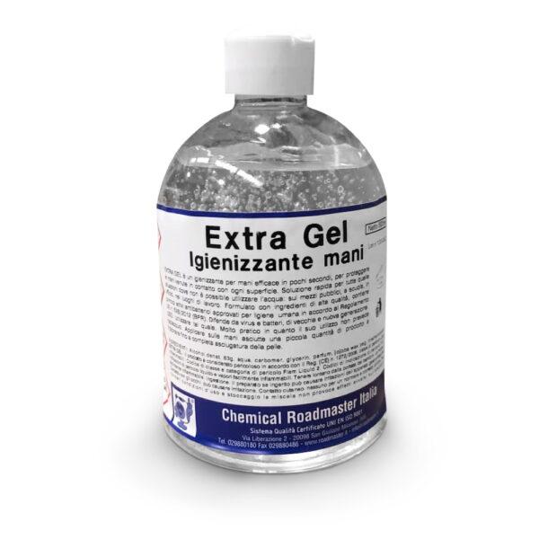 Gel mani igienizzante extra gel 500 ml