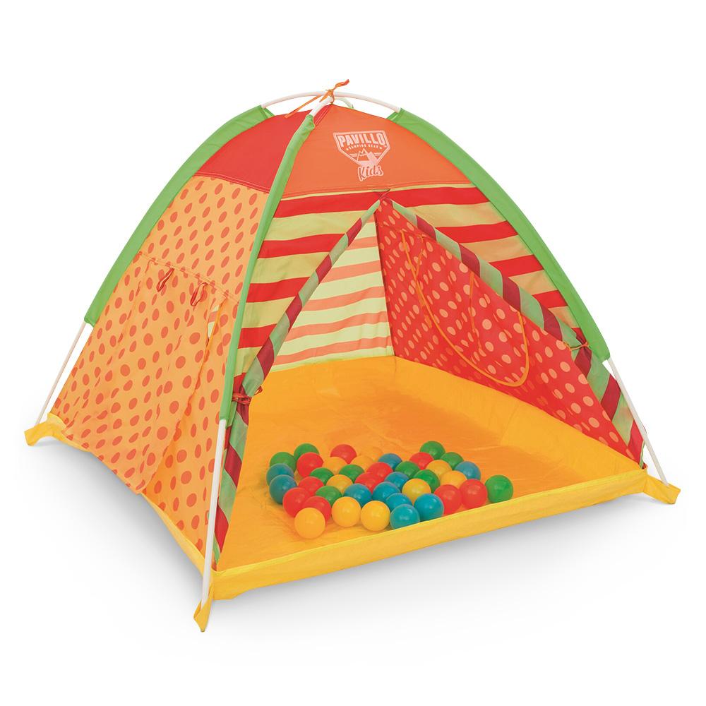 Tenda bimbi 112x112x90cm c/40 palline