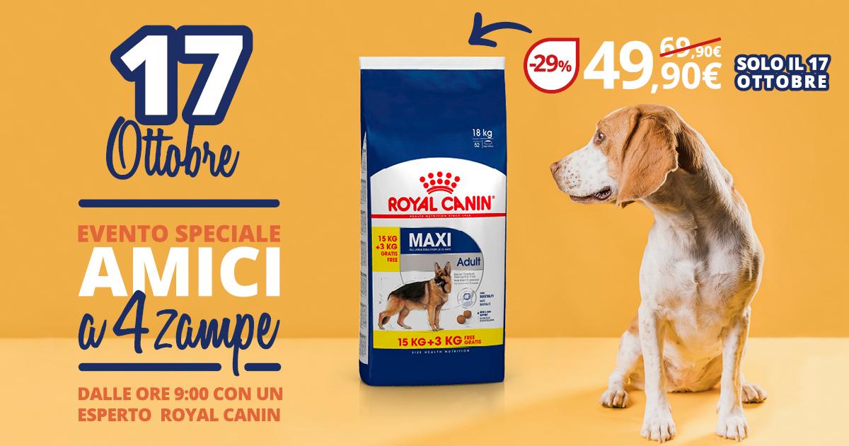 Promozione Royal Canin Brichome Ottobre 2020