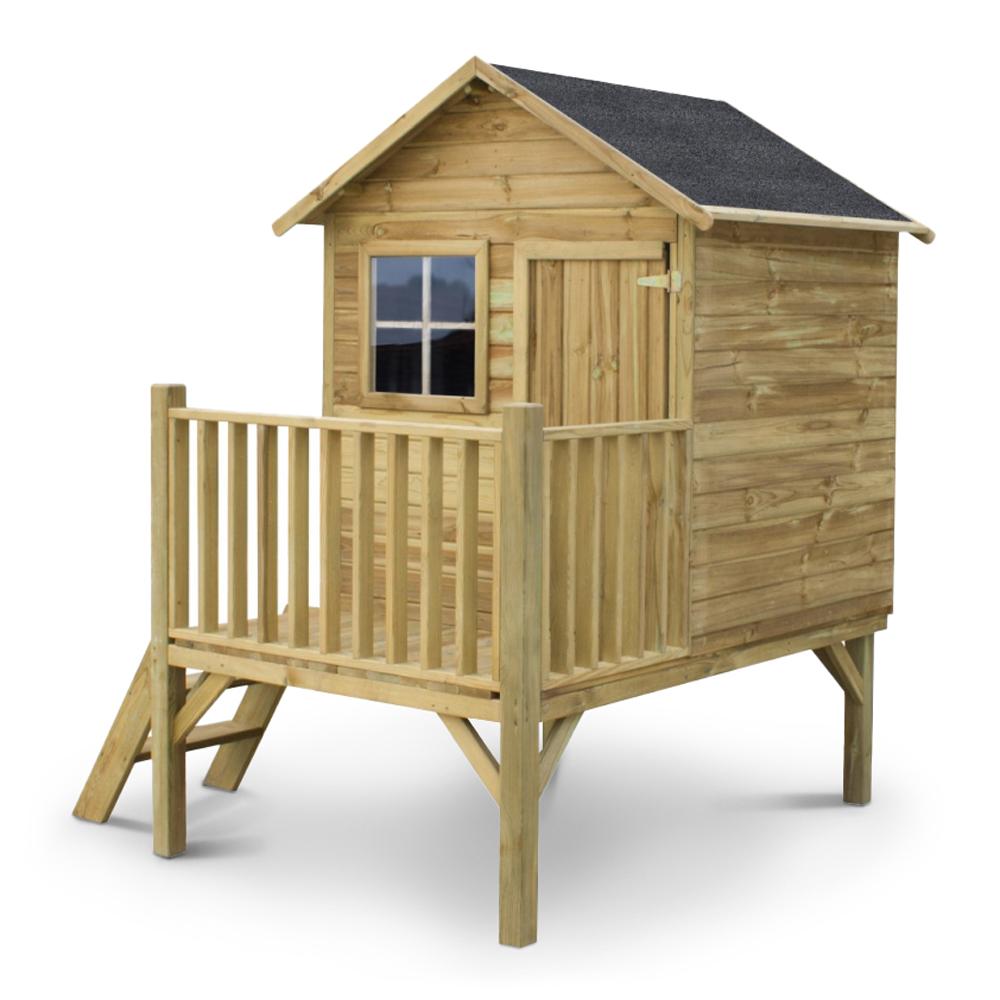 Casetta Tomek in legno impregnato