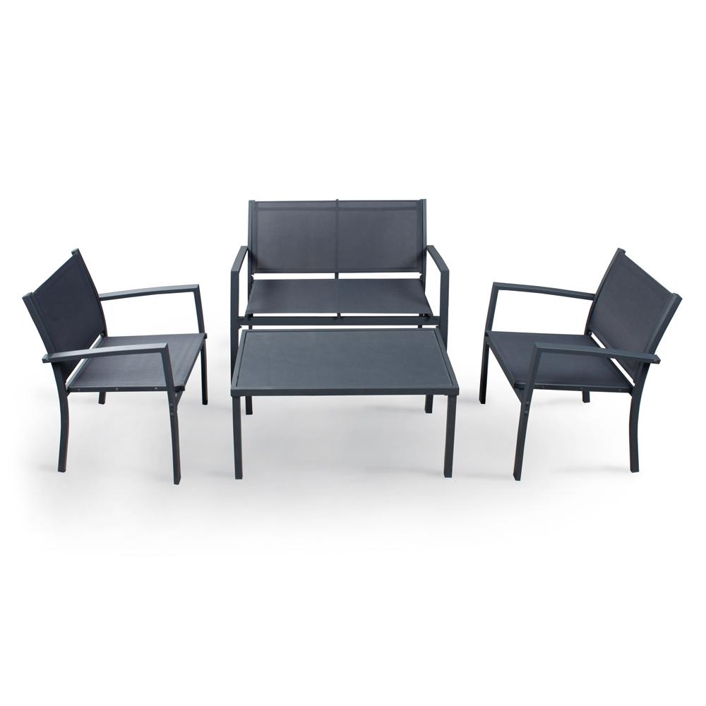 Salottino Life tavolino, divano e 2 poltrone