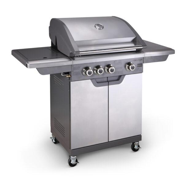 Barbecue a gas 3 fuochi + 1