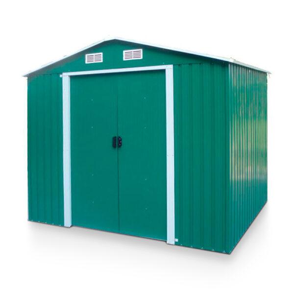 Box attrezzi Apex in metallo zincato verde