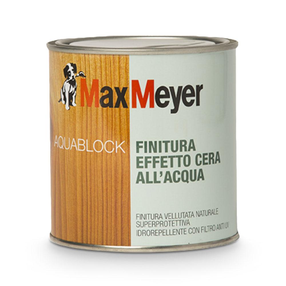 Aquablock effetto cera Max Meyer 0,75 litri all'acqua