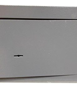 Cassaforte per la casa a muro a chiave 360x195x230 cm in acciaio di grande spessore