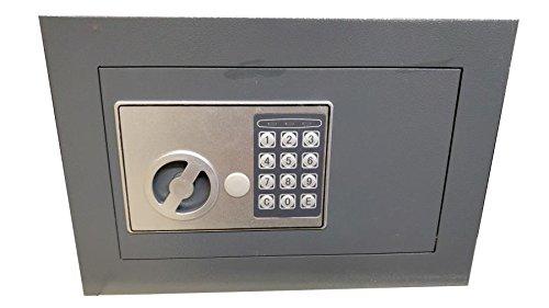 Cassaforte per la casa a muro Electronic 310x150x210 mm in acciaio di grande spessore