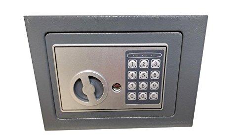 Cassaforte per la casa a muro Electronic Safe 230x170x170 mm in acciaio di grande s